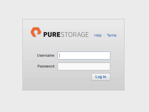 Pure Login Page